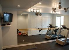 Exercise Rooms in Basement | basement exercise rooms basement pro slc home basement exercise rooms ...