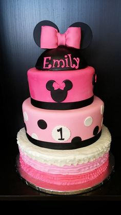 Pink Minnie Mouse for Emily