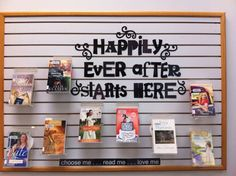 "Valentine's display : February : ""Happily Ever After Starts Here"" : Romance fiction"