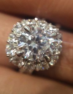 It's all in the detail. An up close photo of a Boutique Bridal Ring from Gabriel & Co. Bridal Rings, Wedding Rings, Elegant Engagement Rings, Pretty Rings, Brilliant Earth, Round Cut Diamond, Jewelry Branding, A Boutique, Gabriel