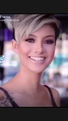 Short Hair Back, Chic Short Hair, Short Choppy Hair, Very Short Hair, Short Pixie Haircuts, Short Hair With Layers, Pixie Hairstyles, Short Hair Styles For Round Faces, Short Hair Cuts For Women