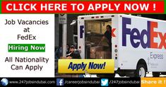 Fedex Jobs Endearing Driver Jobs In Dubai Today New Updated  May 2018