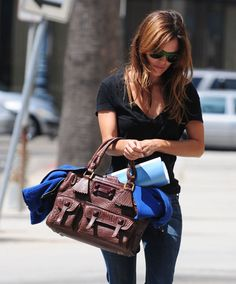Rachel Bilson - Chloe Elvire Tote Chloe Bag, Rachel Bilson, Black Patent  Leather, 631842e697