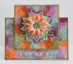 Designs by Marisa: JustRite Papercraft May Release - Doily One Card