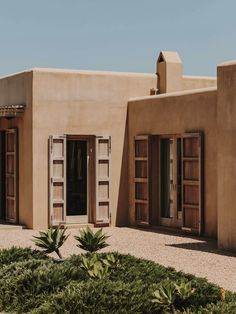 Family House in Formentera by GCA Architects – Design. Family House in Formentera by GCA Arch. Timber Pergola, Mediterranean Architecture, Mediterranean Sea, Rural Retreats, Desert Homes, Spanish House, Architect House, Next At Home, Interior And Exterior
