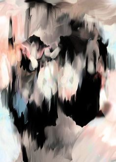 Abstract art. I just saw this painting and gasped. It is gorgeous.