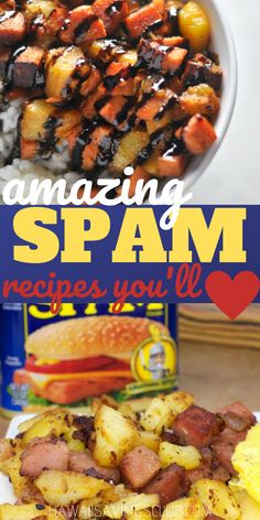 Time to rethink that can of SPAM! Check out these delicious recipes made with SPAM that you are sure to love! #spamrecipes