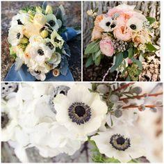 Lake Tahoe Wedding Inspiration | Anemones | Lake Tahoe Weddings with Tahoe Unveiled