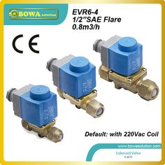 SAE normal close Solenoid valve for ice maker installed discharge line replace alco solenoid valves Cheap Air Conditioner, Air Conditioner Parts, Refrigeration And Air Conditioning, Hvac Maintenance, Water Flow, Flare, Home Appliances, The Unit, Ice