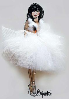 16 Iconic Oscar Dresses Reimagined as Flower Girl Illustrations Flower Fashion, Fashion Art, Fashion Beauty, Girl Fashion, Fashion Dresses, Dress Illustration, Fashion Illustration Dresses, Fashion Design Sketchbook, Fashion Sketches