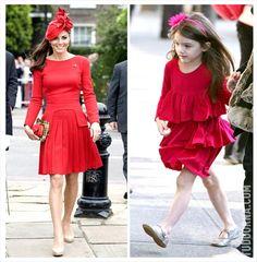 Tudo Orna! - Kate Middleton copia Suri Cruise