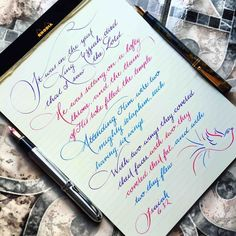 271 Times People Found Some Truly Perfect Handwriting Examples That Were Too Good Not To Share Handwriting Examples, Calligraphy Handwriting, Calligraphy Alphabet, Penmanship, Perfect Handwriting, Beautiful Handwriting, Hand Lettering Alphabet, How To Write Calligraphy, Writing Art