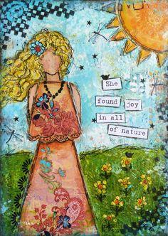 Janie, an Artist on Candy Mountain: She Art #8