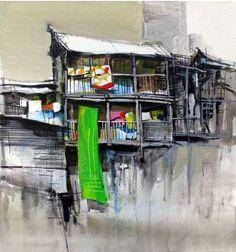 Milind Mulick Watercolor Paintings