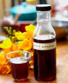 How To Make Grenadine Syrup at Home