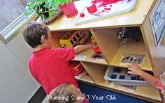 Teaching 2 and 3 Year Olds: 3 Year Olds Preschool Morning Schedule--- **i love the child check-in idea!!! This schedule sounds so great!
