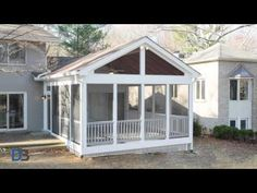 Build A Screened Porch To Let The Outside In