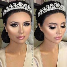 How PERFECT is she!? My stunning glam bride 👰🏻✨want makeup details? XO Book me: Jadeywadey180@gmail.com #bridalmakeup #wedding #glam