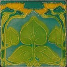 T. & R. Boote (various colourways) - Art Nouveau Tiles
