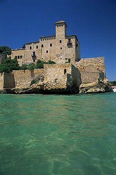 Tamarit castillo, Tarragona, Costa Dorada, Cataluña