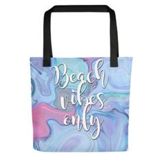 This marbeled tote bag is ready to carry your book, sunnies, charging unit, and rosé to the beach! Are you ready? Sunnies, Reusable Tote Bags, Book, Beach, Sunglasses, The Beach, Books, Livres, Shades