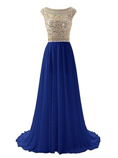 Wedtrend Women's Floor Length Beaded Prom Dress Chiffon Evening Gowns 2 Royal Blue WT10169 Wedtrend http://www.amazon.com/dp/B016UH11HM/ref=cm_sw_r_pi_dp_1GE6wb0P0GHS9