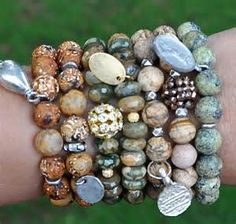 rustic orange and brown bracelet - - Yahoo Image Search Results
