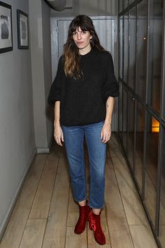 Lou Dillon - J Brand Private Listening Party, London - November 9 2016