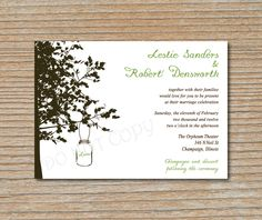 @Ashley Schumacher check out the wording on these invites