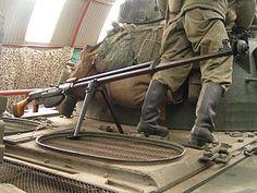 The PTRS-41 or Simonov anti-tank rifle (Russian: ПротивоТанковое Ружьё Симонова) is the semi-automatic analog of the PTRD anti-tank rifle.