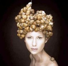 Funny Snails Hairstyle | Funnyho.com