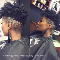 51 undercut hairstyles with hair tattoos for women with short or long hair 11 – JANDAJOSS. Side Hairstyles, Undercut Hairstyles, Wedding Hairstyles, Curly Hair Styles, Natural Hair Styles, Shaved Hair Designs, Tapered Natural Hair, Tapered Haircut, Hair Tattoos