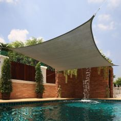 Large Square Sail Sun Shade | Overstock.com Shopping - Big Discounts on Sunsails
