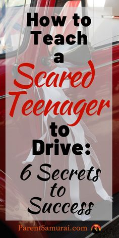 How to Teach a Scared Teenager to Drive We parents dread the daredevil teen driver of popular imagination for good reason. What are we afraid of? That's easy: the idea of undeveloped judgment behind the wheel of a two-ton projectile! But some teenagers of Driving Age, Driving Tips, Driving School, Girls Driving, Driving Safety, Parenting Teenagers, Parenting Hacks, Back To School Organization For Teens, Driving Instructions