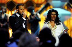 Aretha Franklin  with John Legend #ArethaSings