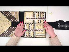 Scrapbooking Tutorial - Foto Folio style 1 -ENGLISH RELEASE- - YouTube