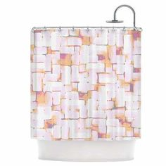 KESS InHouse Cobble Shower Curtain