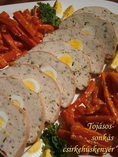 Hankka: Tojásos-sonkás csirkehúskenyér