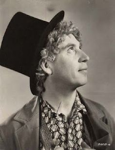 """""""I was the same kind of father as I was a harpist - I played by ear."""" ~ Harpo Marx"""