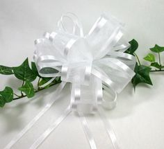 Never have been a bow tying fiend but this site walked me through on how to make a bow for my Easter wreath