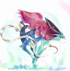 Suicune by ~NatsukiTuck on deviantART