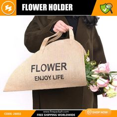 Life Code, Flower Holder, Packaging Solutions, Quotations, Reusable Tote Bags, Free Shipping, Shopping, Quotes, Quote