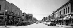 Historic Image of 3rd Street Yankton, SD
