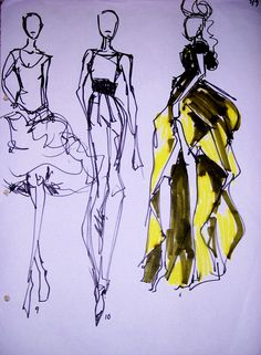 fashion illustration | Fashion Illustration | Meredith.Trusty