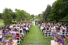Cantigny: East Lawn, our location  shot of everyone