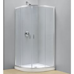 DreamLine Prime Sliding Shower Tempered Glass Enclosure and Shower Floor - Overstock™ Shopping - Great Deals on DreamLine Shower Kits Shower Enclosure, Shower Stall, Shower Wall Kits, Dreamline, Steam Shower Enclosure, Frameless Shower Enclosures, Dreamline Shower, Corner Shower, Toilet Storage