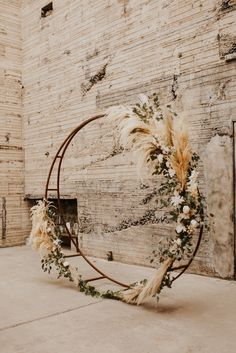 Large Images Wedding Arch / Circular Arch - The Ice House, Phoenix AZ Strategies E . Large Images Wedding Arch / Circular Arch - The Ice House, Phoenix AZ Strategies An easy way to check is always to go ov. Fall Wedding Arches, Wedding Ceremony Backdrop, Ceremony Arch, Arch Wedding, Indoor Wedding Ceremonies, Rustic Boho Wedding, Wedding Altars, Pagan Wedding, Tall Wedding Centerpieces