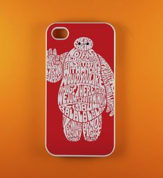 baymax typography big hero six for iphone and samsung case hard plastic by FiveFoott on Etsy https://www.etsy.com/listing/211964893/baymax-typography-big-hero-six-for