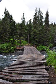 Winner Creek Trail, Girdwood, Alaska