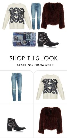 """""""FASHION GIRL"""" by josephinebendixen ❤ liked on Polyvore featuring Current/Elliott, Vanessa Bruno, Chanel and Toga"""